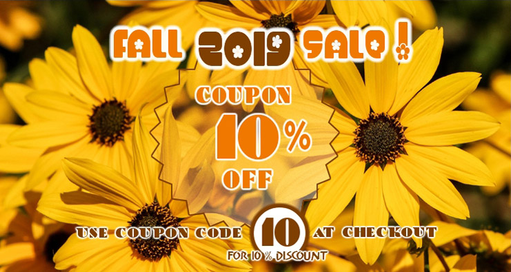Seed Empire Fall Sale 10 OFF