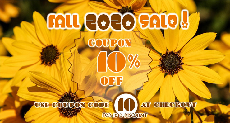 Seed Empire Fall 2020 Sale Coupon 10 Off