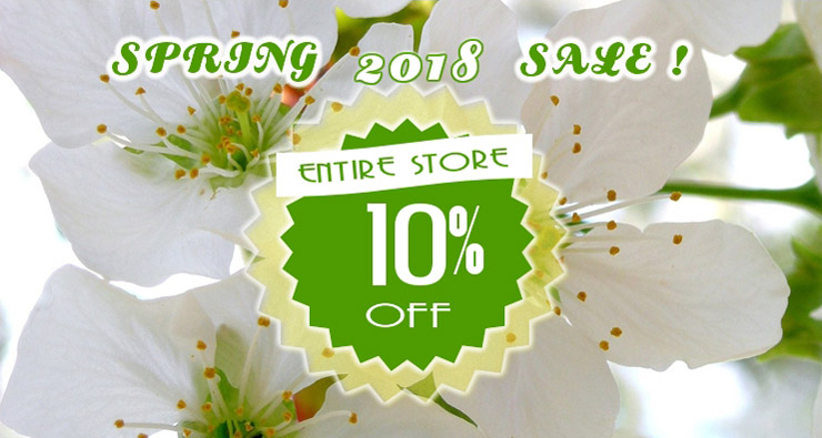 Seed Empire Spring Sale 10%
